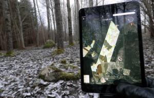 Skogsbruksplanen på din surfplatta eller smartphone