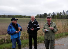 Molin, Björnberg samt skogskunnige Bo Jonasson.