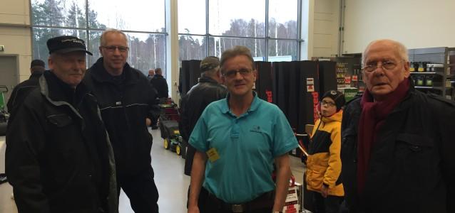 På bilden från v: Lars Persson, Anders Andersson, Stig Åberg, Ulf Einarsson.